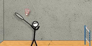Hra - Stick Figure Badminton