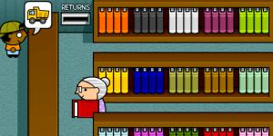 Hra - Obsluha v knihovně