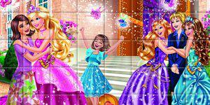 Hra - Barbie skládanka