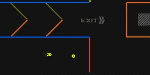 Hra - Neon Maze