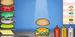 Hra - Papa's Burgeria