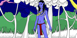 Hra - Avatar World Coloring