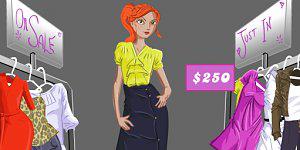 Hra - Nakupování oděvů