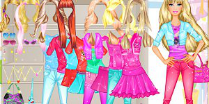 Hra - Barbie Room Dress Up