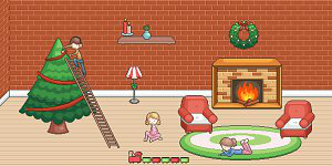 Hra - Christmas Room Decoration