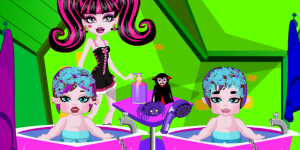 Hra - Monster High Twins Babysitter