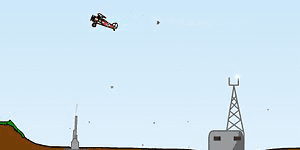 Hra - Biplane Bomber 2
