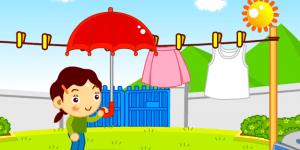 Hra - Sušení prádla