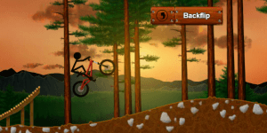 Hra - Stickman Dirtbike