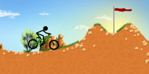 Hra - Stickman Downhill