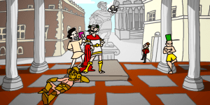 Hra - Caesar's Day Off