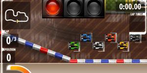 Hra - Kart Fighter Corridors of Power