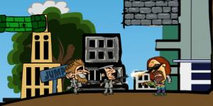 Hra - Army Blaster