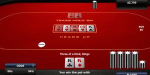 Hra - Texas Hold'Em Poker Heads Up