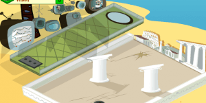 Hra - Cartoon Cove Minigolf
