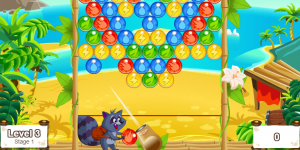 Hra - Bubble Fox