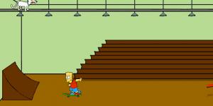 Hra - Bart Simpson Saw Game 2