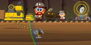 Hra - Dwarf Goldminer