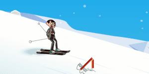Hra - Mr Bean Skiing Holiday