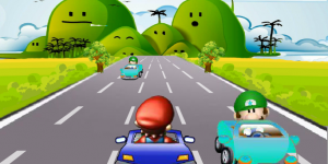 Hra - Mario on Road