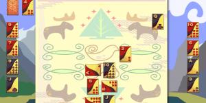 Hra - Magic Quilt Solitaire