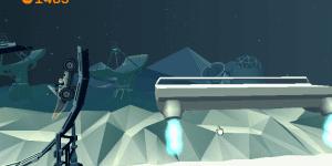 Hra - Lynx Lunar Racer