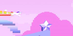 Hra - Retro Unicorn Attack
