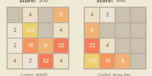 Hra - 2048 2 Player