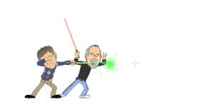Hra - Gates vs Jobs The Game!