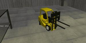 Hra - Forklift Sim