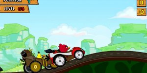 Hra - Angry Birds Race