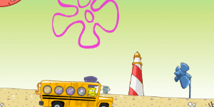 Hra - Spongebobs School Bus