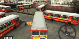 Hra - Best Bus 3D Parking