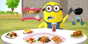 Hra - Minion Barbeque