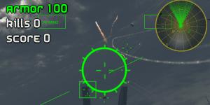 Hra - Air Strike Alien Drones