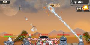 Hra - Math Missile
