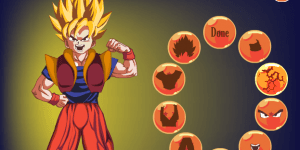 Hra - Goku Dress Up