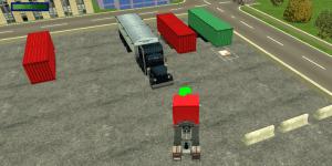 Hra - Trucker Parking 3D