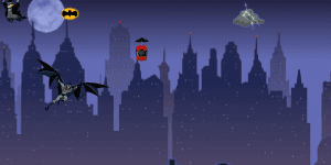 Hra - Batman Night Sky Defender