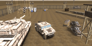 Hra - War Truck 3D Parking