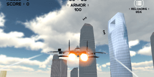 Hra - Air War 3D City Warfare