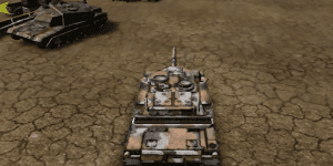 Hra - Battle Tank 3D Parking