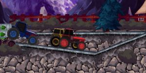 Hra - Tractor Racing