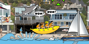 Hra - Los Angeles Shark