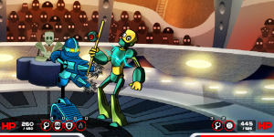 Hra - Chrome Wars Arena