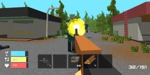 Hra - Zomblock Survival