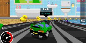 Hra - Retro Racers 3D