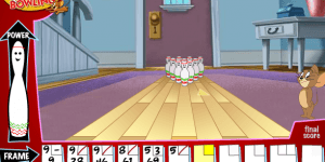 Hra - Tom And Jerry Bowling