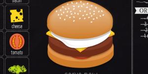 Hra - Burger Maker