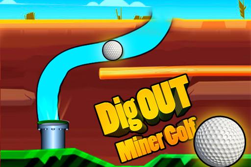 Hra - Dig Out Miner Golf